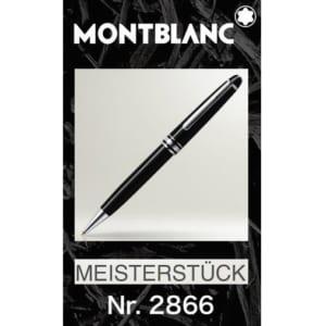 名入れ モンブラン☆ボールペン MONTBLANC マイスターシュテュック プラチナライン クラシック