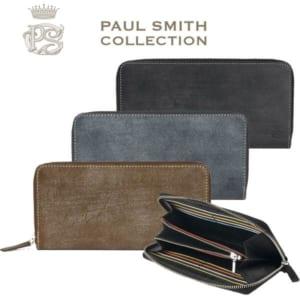 ポールスミス 財布 メンズ ラウンドファスナー 長財布
