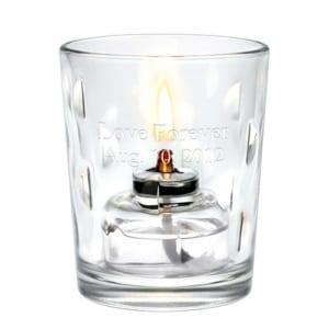 【名入れ】オイルランプグラス