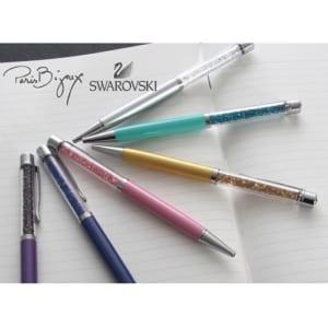 【名入れ無料】スワロフスキーボールペン ParisBijoux