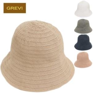 GREVI グレヴィ 帽子 レディース