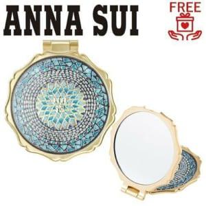 アナスイ コスメ ミラー 鏡 コンパクトミラー