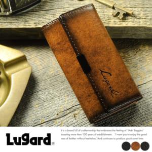 青木鞄 Lugard 5連キーケース G-3 男性用 メンズ 鍵ケース 革 本革