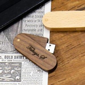 木製 USB メモリ