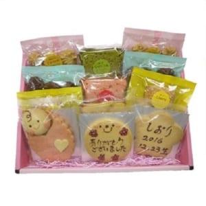 コウノトリの贈り物の御礼焼き菓子ギフト (12点入り)