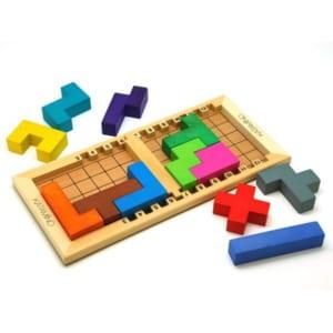 木のおもちゃ パズル ゲーム 知育玩具