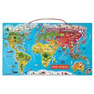 JANOD(ジャノー)パズル ワールドマップ