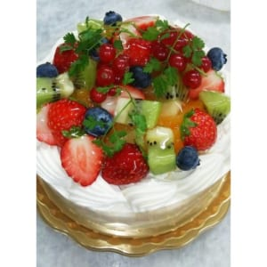 大人気! フルーツデコレーションケーキ バースデーケーキ