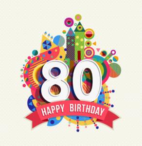 お祝い 80 歳