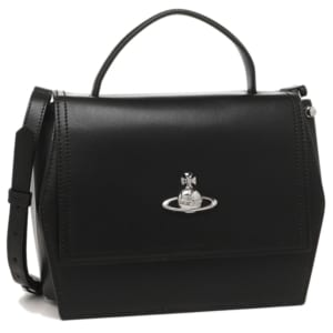 【ヴィヴィアン・ウエストウッド】ショルダーにもできるレザーバッグ