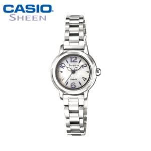 【カシオ・腕時計】レディース CASIO 腕時計 シーン SHEEN ソーラー ソーラー腕時計 SHE-4502SBD-7AJF レデイース 国内正規品 女性用 うでどけい ladies by CAMERON