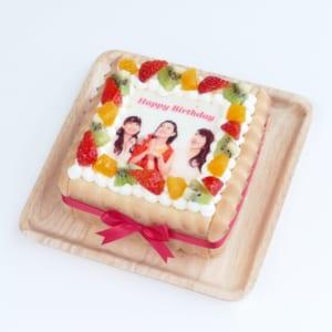 【ケーキエクスプレス】ビスキュイ付きフルーツケーキ