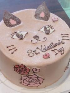 王様のシフォンケーキ/猫のココアシフォンケーキ
