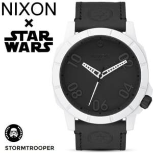 【NIXON×STAR WARS】ニクソン スターウォーズ コラボモデル STORM TROOPER ストームトルーパー レンジャー メンズ レディース 腕時計 ステンレス レザーベルト ウォッチ A466SW-2243-00-1 ギフト by CAMERON