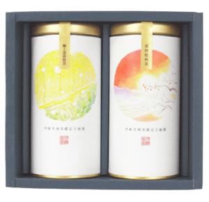 京都宇治 極上深蒸煎茶 深炒焙煎茶 ギフトセット