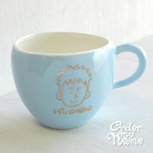 【名入れ】デザイナー手書きの似顔絵入りマグカップ