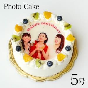 【ケーキ・エクスプレス】爽やかフルーツの写真ケーキ