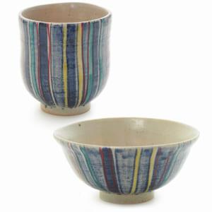 九谷焼 ご飯茶碗&湯のみセット