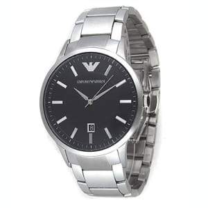 エンポリオアルマーニ EMPORIO ARMANI 時計 腕時計 メンズ エンポリオアルマーニ 時計 腕時計 EMPORIO ARMANI AR2457 ブラック メンズウォッチ ステンレス by ブランドショップAXES(日本流通自主管理協会会員)