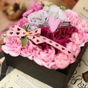 【送料無料】《花の宝石箱》箱を開けてビックリ!! サプライズに最適
