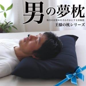 男の夢枕 (超極小ビーズ枕)消臭 枕カバー付き