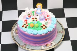 【ブランティーグル】可愛いアリスのギフトケーキ