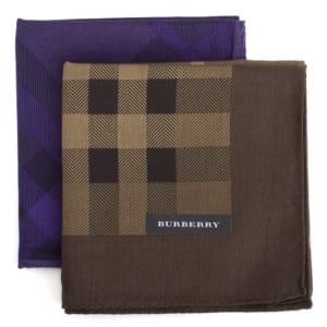 バーバリー ハンカチ 2枚組ハンカチセット BURBERRY