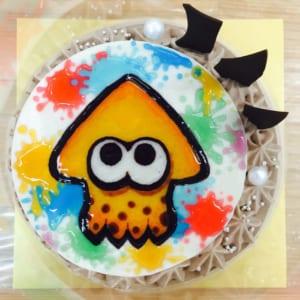 【1日2台限定】オーダーメイドオリジナルキャラクター/チョコレートケーキ