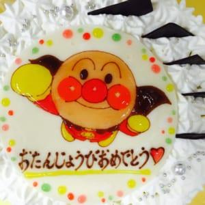 【1日2台限定】オーダーメイドキャラクター/フルーツショートケーキ