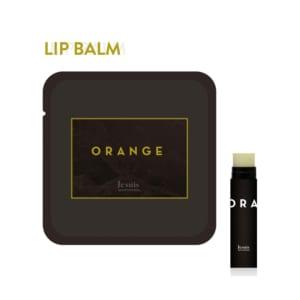 自然素材が唇に優しい「リップバーム(オレンジ)」 植物由来のハンドメイドスキンケアコスメ
