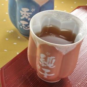 有田焼 桜型高級湯のみ