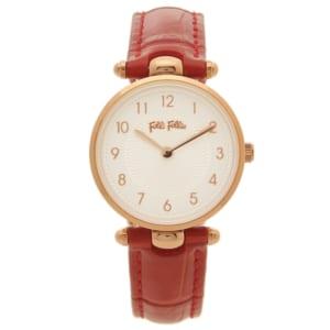 フォリフォリ 時計 FOLLI FOLLIE WF17R014SSSーDR LadyClub レディース腕時計ウォッチ レッド/ホワイト by ブランドショップAXES(日本流通自主管理協会会員)