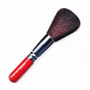 【名入無料】竹宝堂 熊野化粧筆(熊野筆・メイクブラシ) パウダーブラシ 20-3 赤軸