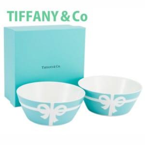 【名入れ可】TIFFANY&Co ボウル 食器 洋食器