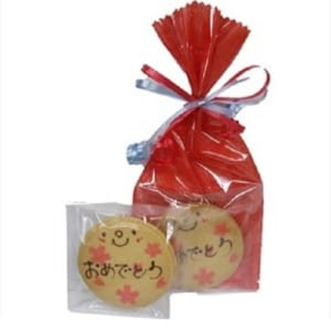 【プチギフト】ニコチャンのメッセージオーダークッキー