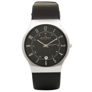 スカーゲン SKAGENレザー 腕時計