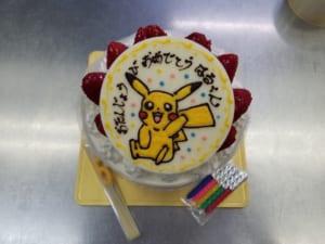 【1日2台限定/6~7号】オーダーメイドのプレートケーキ