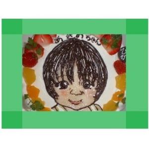 【1日台数限定・7号】イラストケーキ専門店の似顔絵ケーキ