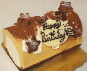 【約2〜3人分】ティラミスのデコレーションロールケーキ