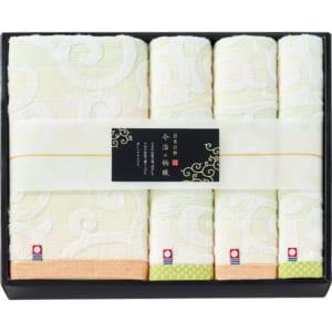 【唐草柄】綿100%のタオルセット