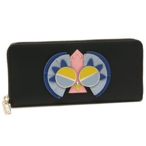 【レディース】ケイトスペードのレザー長財布