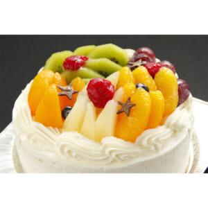 【ロリアン洋菓子店】7色のフルーツショートケーキ