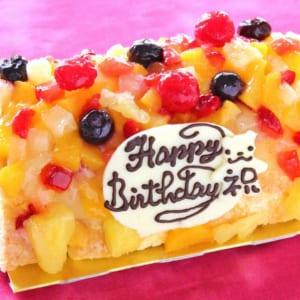 ロールフルーツアイスケーキ