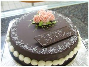 チョコレート デコレーションケーキ