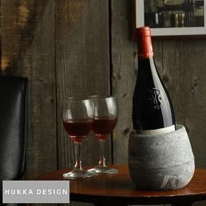 HUKKA DESIGN ソープストーン ワインクーラー 14204 結露しない ワインクーラー 氷がいらない シャンパンクーラー ボトルクーラー クールキーパー ワイン好き プレゼント 北欧 by Lifeit(ライフイット)