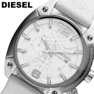 【DIESEL】ディーゼル クオーツ オーバーフロー クロノグラフ 10気圧防水