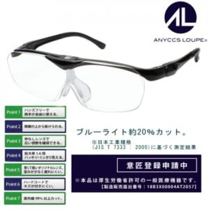 眼鏡型 拡大鏡