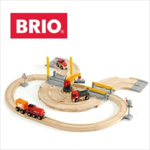 【知育玩具】BRIO(ブリオ)レール&ロードクレーンセット