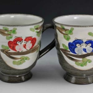 清水焼 京焼 ペアマグカップ