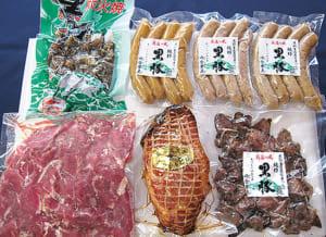 黒豚焼豚おつまみセット